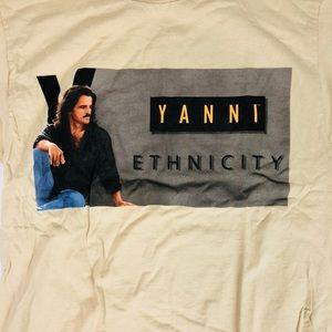 Vintage Yanni Concert Tee Shirt 🤗